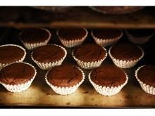 香り豊かなチョコレートがとろ~り!限定販売のニコラシャール特製フォンダンショコラは、早いモノ勝ち♪