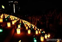 幻想的な「100万人のキャンドルナイト」開催 増上寺でスローな癒やしの夜を