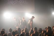 これぞまさに粒ぞろい! 注目のイケメン5人組が渋谷で新曲を披露!