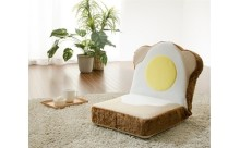 ふわふわ食パンの座椅子?パン好き必見のユニークな家具が登場☆