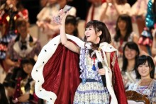 「第8回AKB48選抜総選挙」、フジ生中継の平均&瞬間最高視聴率発表