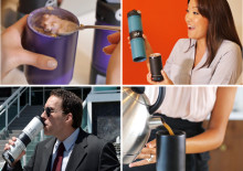 """夏の""""冷え""""対策に!ホット&アイスの飲み物を同時に持ち運べるボトルが便利"""