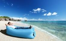 海でも山でも!どこでも使える「エアハンモック」で夏休みを100倍楽しく♪