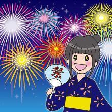 夏はやっぱり花火大会☆今年こそ日本三大花火に行ってみよう!