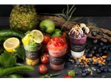 まるごと凍らせたキュウリの食感がレアすぎ!水を一切使わずオーガニックなフルーツ&野菜が体にしみわたるかき氷