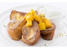 夏の朝食、ブランチにぴったり♪サラベスから店舗限定の新作「マンゴーフレンチトースト」「チュロフレンチ」