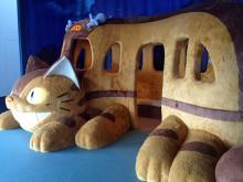 六本木に猫バスやってきた 。夢だけど、夢じゃなかった #ジブリ