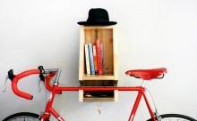 自転車好きに朗報!愛車をコンパクトに収納できるラックが登場