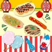 お祭りといえばやっぱこれ♡絶対食べたい屋台グルメBest5☆