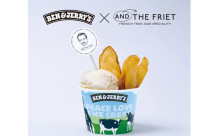 アイスとポテトが1つのカップに!!ベン&ジェリーズとアンドザフリットの異色コラボが実現