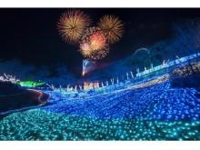 300万球のイルミと納涼花火で「光あふれる夏」を体験! 今夏一番の思い出は「さがみ湖納涼イルミリオン」でキマリ♪