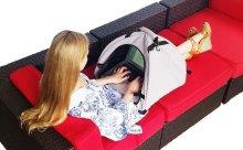 ノマドワーカーにおすすめ☆アウトドアで使えるガジェット用シェイドが便利