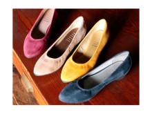 足に優しいパンプスのような靴が登場!『fitfit』初のポインテッドトウシューズ「パンプニーカー」を発売