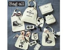 NY発コットンバッグで、旅やデイリーの小物をおしゃれに整理整頓♪ PLAZAで出会う「Bag-all」新作♡