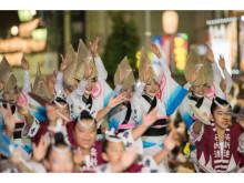 踊り手たちのダイナミックな演舞をご覧あれ!「第60回 東京高円寺阿波おどり」をJ:COMが8月27・28日に生中継