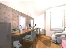 セルフエステ空間から最新家電まで♪ 一戸建の空家が、女子にウレシイ大満足シェアハウスに大ヘンシン!