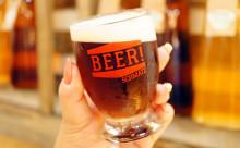 """クラフトビールを""""わんこそば""""スタイルで♪本場ドイツの雰囲気が体感できる赤坂のビアダイニングが楽しい!"""