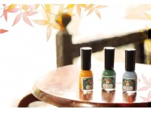はるか昔、平安の時代から愛されてきた季節の色を「トレンド×和色」で楽しむ♡胡粉ネイルに秋冬限定カラー登場