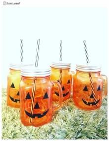 ダイソー「かぼちゃおばけ」がドリンクボトルに変身!ハロウィン以外でも使いたい可愛さ