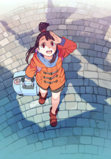 TVアニメ『リトルウィッチアカデミア』2017年1月より放送開始