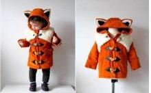 大人版もほしい♡動物モチーフのキッズ用ダッフルコートがかわいぎるっ