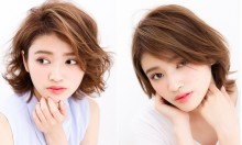 【写真で徹底比較!】レングス別で見る『前髪』『カラー』が違うだけで印象も違う!?