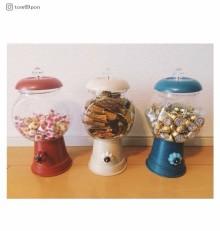 """【100均インテリア】簡単おしゃれな""""キャンディポット""""を今すぐお部屋に飾りたい!"""