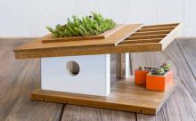 鳥になって住んでみたい!ミッドセンチュリーデザインのバードハウスがステキ