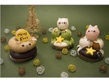 人気者「どうぶつドーナツ」がクリスマスの装いに!