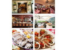 NY発のオイスターバー&レストランで楽しむ特別メニュー