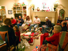 パーティの準備忙しい。でもそんなクリスマスが好き。サンフラシスコ女子