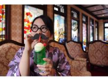 金沢旅の思い出に!大正ロマン溢れる3色のクリームソーダ