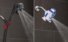 『スター・ウォーズ』ファン必見☆ダースベイダー&R2-D2のシャワーヘッドがインパクト大!