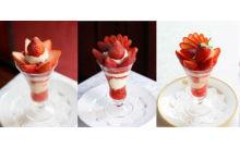 イチゴづくしの2日間♡資生堂パーラーに15品種15種類のストロベリーパフェが大集合♪