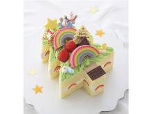 夢いっぱいのイラストが本物のクリスマスケーキになった!