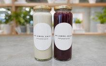 「good juice」と「MR. & MRS. CHIEF」がコラボ!ブラック&ホワイトのコールドプレスジュースがオシャレ