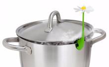 """鍋の吹きこぼれを防止してくれる""""一輪の花""""が秀逸!"""