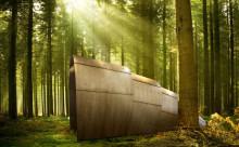 グランピングに最適♪『ナウシカ』のオームみたいな木製テントがオシャレ