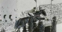 ガルパン「 西絹代 隊長 」のモデルは、日本人で唯一の馬術金メダリスト「西竹一」大佐