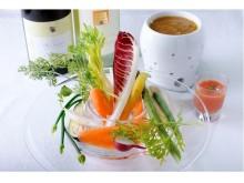 冬野菜のおいしさを再認識!リストランテの絶品一皿