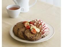 バレンタインに食べたいチョコづくしのパンケーキ