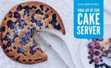 ケーキの切り分けはお任せ!フィンランド発おしゃれな「ケーキサーバー」がスグレモノ