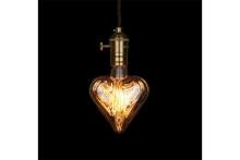 お部屋のイメチェンが簡単にできちゃう♪さまざまな形のフィラメントで光を操る電球がカワイイ