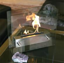ずっと眺めていたくなる…!煙や匂いもなく安全でエコロジカルなミニ暖炉がステキ♪