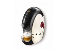 コレ可愛すぎ!!キティがコーヒーマシンにヘンシン