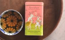 動物たちもお花見…?カレルチャペック紅茶店の新作は「桜×鳥獣戯画」が最強キュート♡