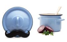 """料理がもっと楽しくなる!""""ヒゲ""""モチーフの鍋蓋ホルダーがかわいい♪"""