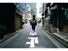 1日限定の写真展!女の子が歩く東京の小町を切り取る
