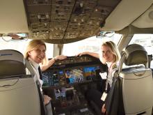 エア・カナダかっこよすぎ。パイロットも地上スタッフも。女性だけのフライトを実現 #国際女性デー