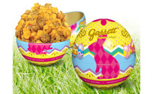 コロンとしたフォルムが可愛い♪ギャレットポップコーンに卵型の「Easter缶」が初登場!